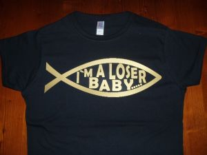 WOMENS BECK `I`M A LOSER` T-SHIRT